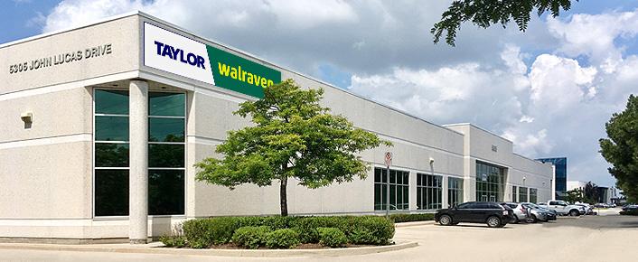 Taylor Walraven building at 5305 John Lucas Dr., Burlington, ON