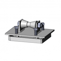 Rollers, Saddles & Shields, 280S Adjustable Pipe Roll Stand with Base