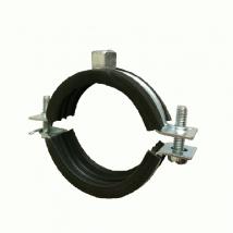 Swivel & Split Ring Hangers, 40 Split Ring Clamp (Rubber Lined)