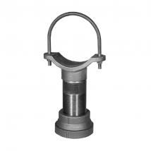 Guides, Slides & Stanchions, 527 Adjustable Pipe Saddle Support w/ U-Bolt