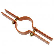 Riser & Pipe Clamps, 85 Riser Clamp - Epoxy Coated Copper-Gard