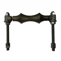 Rollers, Saddles & Shields, 95S Adjustable 2-Rod Roller Assembly (with rods)