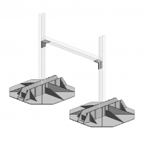 Rooftop Supports, QF Quick Frame