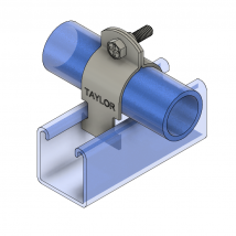 Strut Clamps, 910R 2-Piece Strut Pipe Clamp (Rigid / IPS)