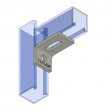 Strut Fitting - Angular, AF210 Two-Hole Adjustable Corner Angle