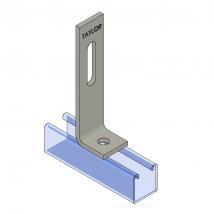 Strut Fitting - Angular, AF213 Two-Hole Adjustable Corner Angle