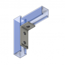 Strut Fitting - Angular, AF302 Three-Hole Corner Angle