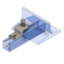 """Strut Beam Clamps, BC491 """"Z"""" Beam Clamp"""
