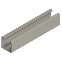 Strut Channel, TS4 1 5/8 x 1 5/8 x 10ft Solid